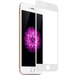 Защитное стекло 3d для iphone 8 Белое