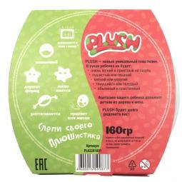 PLUSH Пушистый пластилин  Розовый+Зеленый