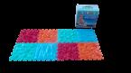 Детские массажные (ортопедические) модульные коврики «ОРТО ПАЗЛ» (Микс Море)