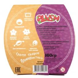PLUSH Пушистый пластилин Фиолетовый +Оранжевый
