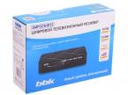 Цифровой телевизионный DVB-T2 ресивер BBK SMP023HDT2 черный