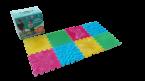Детские массажные (ортопедические) модульные коврики «ОРТО ПАЗЛ» (Микс Первые шаги)