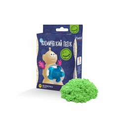 Космический песок, Зеленый 150г