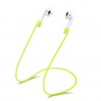 Силиконовый ремешок для наушников Apple AirPods (Зеленый)