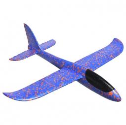 Самолет-планер из пенопласта метательный (большой) фиолетовый