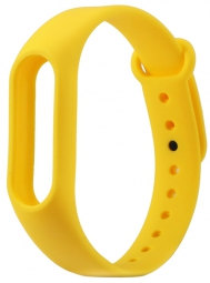 Сменный Ремешок для Xiaomi Mi Band 2 (желтый)