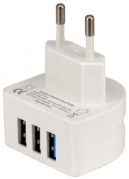 Зарядное устройство Remax RP-U31 Charger Moon 3 USB 3,0A