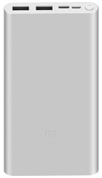 Внешний аккумулятор Xiaomi Mi Power Bank 3 10000mAh Quick Charge (PLM13ZM) Silver