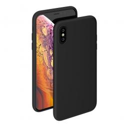Силиконовый защитный чехол Monarch для Iphone X/Xs (Черный)