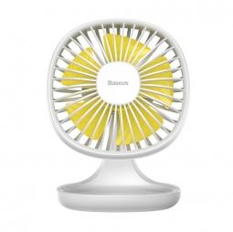 Настольный вентилятор Baseus Pudding-Shaped Fan белый