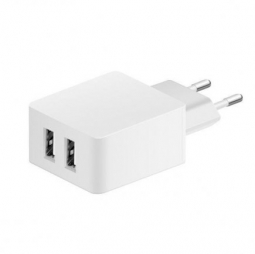Сетевое ЗУ Monarch Euro Dual USB Home Charger 3.4А (Белый)