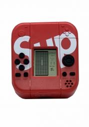 Защитный чехол SHANHI для Apple AirPods 1/2 с играми (красный)
