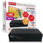 ТВ-тюнер/ресивер D-COLOR DC1602HD WiFi, черный