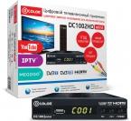 ТВ-тюнер/ресивер D-COLOR DC1002HD mini, черный