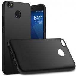 Накладка на заднюю панель силиконовая для Xiaomi RedMi 4X Черная