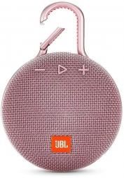 Портативная акустическая система JBL Clip 3 Pink (Розовый)