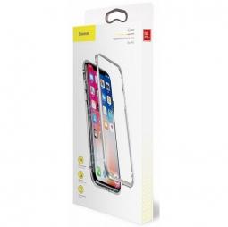 Чехол Baseus magnetite hardware Case IPhone X/Xs серебристый