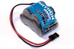 """Бортовой NiMh аккумулятор Team Orion Marathon XL 1900mAh 6V """"горка"""" c универсальным серво разъемом."""