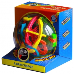 Головоломка Track Ball 3D 19 см (138 ходов)