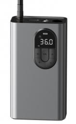Автомобильный компрессор Baseus Energy Source Inflator Pump Tarnish (CRCQB02-0A) (gray)