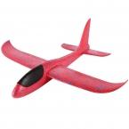 Самолет-планер из пенопласта метательный (большой) красный