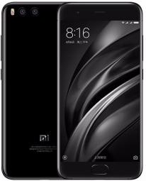 Смартфон Xiaomi Mi6 128GB Ceramic Special Edition Black
