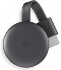 Медиаплеер Google Chromecast 2018 Черный (Black)