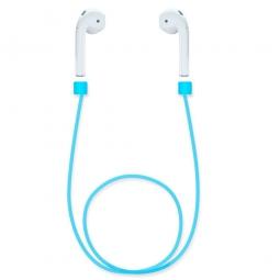 Силиконовый ремешок для наушников Apple AirPods (Синий)