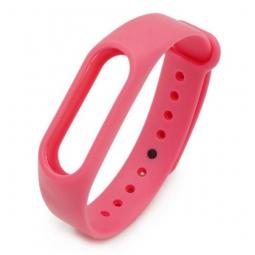 Сменный Ремешок для Xiaomi Mi Band 3 (розовый)