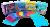 """Детские массажные (ортопедические) модульные коврики 8шт """"ОРТО ПАЗЛ Микс Универсальный"""""""