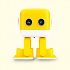 Интеллектуальная колонка-робот Robo Cube Yellow (Желтый)