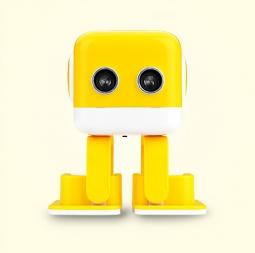 Интеллектуальная колонка-робот Robo Cubee Yellow (Желтый)