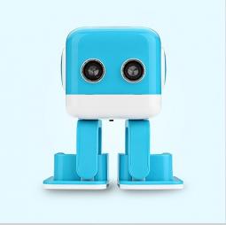 Интеллектуальная колонка-робот Robo Cube Blue (Синий)