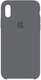 Чехол-накладка Silicone Case для iPhone Xr серый