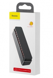 Автовизитка Baseus Moonlight Box Series Temporary Parking Number Plate ACNUM-B0G (Темно-серый)