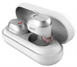 Беспроводные наушники Elari NanoPods Sport White (Белый)