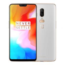 Смартфон Oneplus 6 8GB + 128GB EU White (шелковый белый)