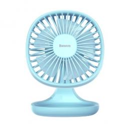 Настольный вентилятор Baseus Pudding-Shaped Fan голубой