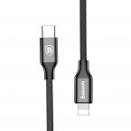 Кабель BASEUS USB Type-C Lightning черный BASEUS