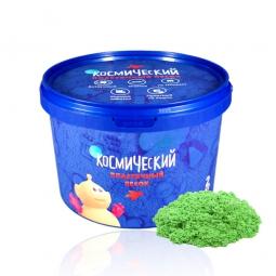 Космический песок Зеленый 2 кг