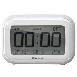 Настольные часы Baseus Subai Clock White (белый)