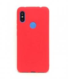 Силиконовый защитный чехол Monarch для Xiaomi Redmi Note 6 Pro Красный