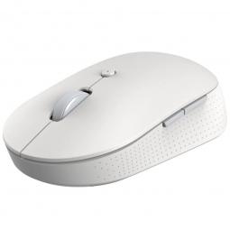 Беспроводная компьютерная мышь Xiaomi Mi Dual Mode Wireless Mouse Silent Edition белая