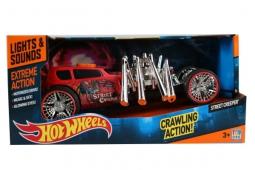 "Машина ""TOYSTATE"" ""Hot wheels"" экстримальные гонки на батарейках (свет, звук) 181019/90510TS , код 383662"