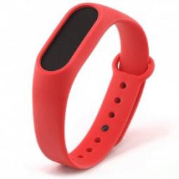 Сменный Ремешок для Xiaomi Mi Band 2 (красный)