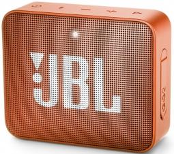 Портативная акустика JBL GO2 Orange (оранжевая)