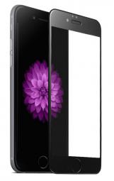 Защитное стекло 3d для iphone 8 plus Черное