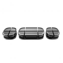 Держатель для проводов Baseus Cross Peas Cable Clip Black (Черный)