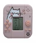 Защитный чехол SHANHI для Apple AirPods 1/2 с играми (розовый)