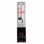 Кабель Remax Platinum Metal RC-044i for micro USB 1м white
